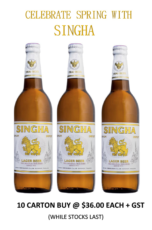 CELEBRATE SPRING WITH SINGHA